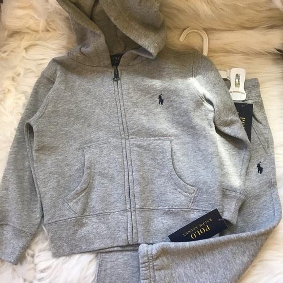 Ralph Lauren Other - Ralph Lauren Gray jogging suit
